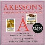 Akesson's, Madagascar, 75% dark chocolate & wild pepper bar
