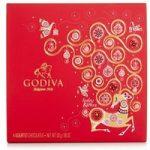 Godiva, 4 Assorted Christmas Chocolate Gift Box