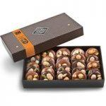 Chocolate mendiants gift box