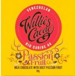 Willie's Passion Fruit milk chocolate bar