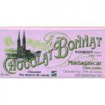 Bonnat, Madagascar, 100% Criollo, 75% dark chocolate bar