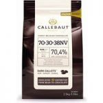 Callebaut dark chocolate chips (callets) 70% – 10kg bag