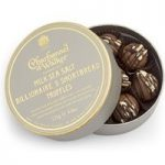 Charbonnel et Walker, Billionaire Shortbread Chocolate Truffles – 125g box – Best before: 4th September 2017