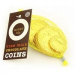 Net of Victorian gold chocolate coins – 25g net of coins
