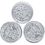 Silver sixpence chocolate coins – Bag of 100