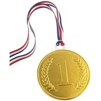 55mm chocolate medal – Bulk case of 100 medals | Fine