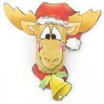 Christmas Elk – Bulk box of 70