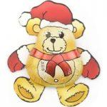 Christmas teddy bear – Bulk box of 70
