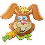 Carrot cruncher bunny – Bag of 5
