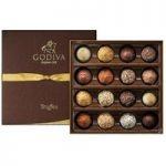 Godiva, Signature Assortment, 16 Chocolate Truffles Gift Box
