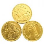 Gold sovereign chocolate coins – Bulk drum of 180