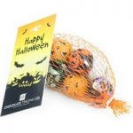 Personalised net of halloween chocolate balls