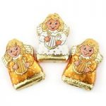 Milk chocolate mini angels – Bulk box of 100