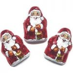 Milk chocolate mini Santas – Bulk box of 200