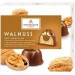 Niederegger, Marzipan walnut milk chocolates