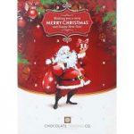Personalised chocolate advent calendar (Santa)