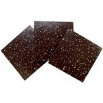 Speckled, dark chocolate panels – Box of 10