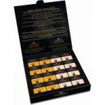 Valrhona Grands Crus milk chocolate squares gift box 160g