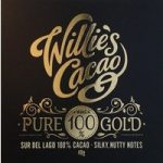 Willie's, Pure Gold, 100% dark chocolate bar – New 65g weight
