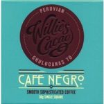 Willie's Cafe Negro dark chocolate & coffee bar