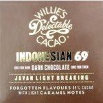 Willie's Indonesian 69 Javan dark chocolate bar