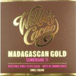 Willie's Madagascan 71 Sambirano Superior chocolate bar
