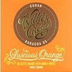 Willie's Luscious Orange dark chocolate bar