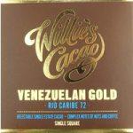 Willie's Venezuelan 72 Rio Caribe Superior chocolate bar