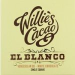 Willie's El Blanco white chocolate bar