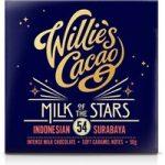 Willie's Milk of the Stars, Surabaya 54% milk chocolate bar