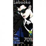 Zotter, Labooko Dark Cuvee with nibs, 70% dark chocolate bar